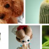 サボテンと犬とカエルと牛とフランス人形