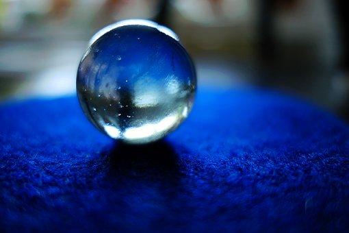 水晶玉の写真