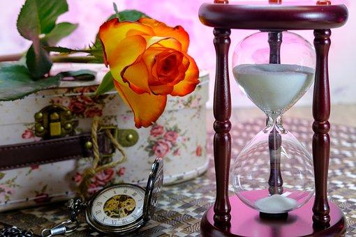 花と砂時計