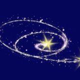 2つの流れ星