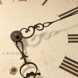 アンティークな時計の文字盤