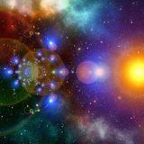 美しい銀河の写真