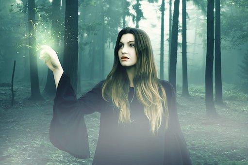 霧の中の魔女