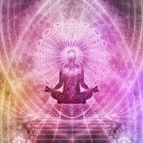 瞑想中のオーラのイメージ
