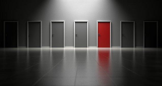 沢山のドア,選択肢,未来