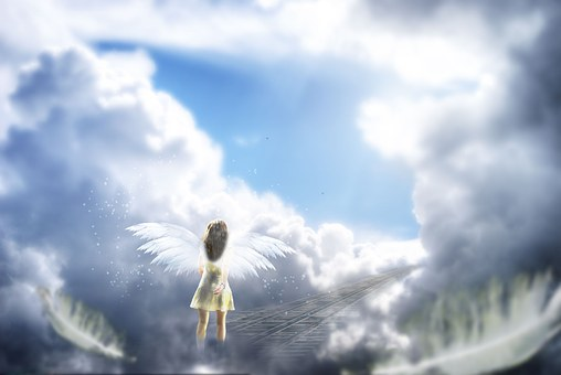 天使,天国のイメージ