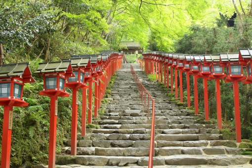 貴船神社の参道