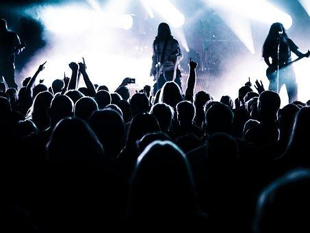 ライブ会場の写真