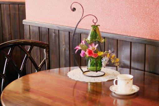 カフェの2人席