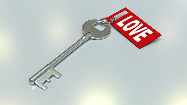 LOVEと書かれた鍵