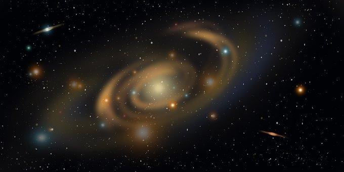 宇宙の銀河