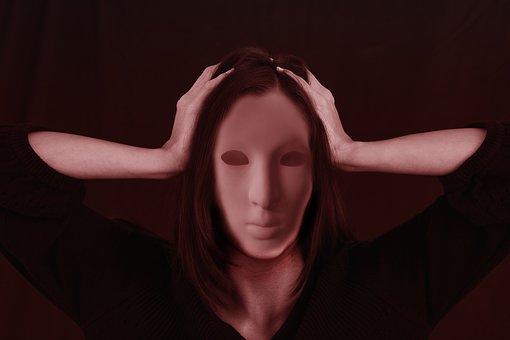 ストレスでおかしくなった女性